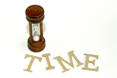 時間を計る